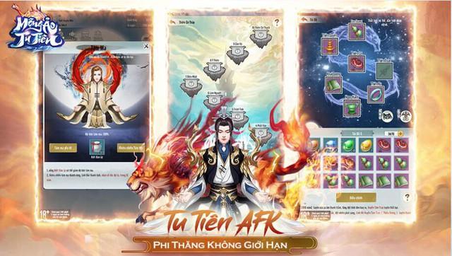 Game AFK tu tiên hay nhất 2020 - Mộng Ảo Tu Tiên tung Landing Độ Kiếp Hóa Thần, chính thức mở tải - Ảnh 2.