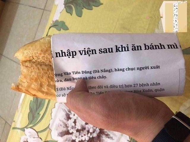 Góc hài hước: Những pha giấy bọc bánh mì khiến người ăn cạn lời vì nội dung khó đỡ - Ảnh 1.