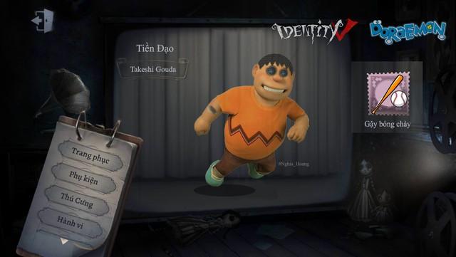 Ám ảnh với dàn nhân vật Doraemon bỗng xuất hiện trong Identity V cùng diện mạo cực kỳ creepy - Ảnh 6.