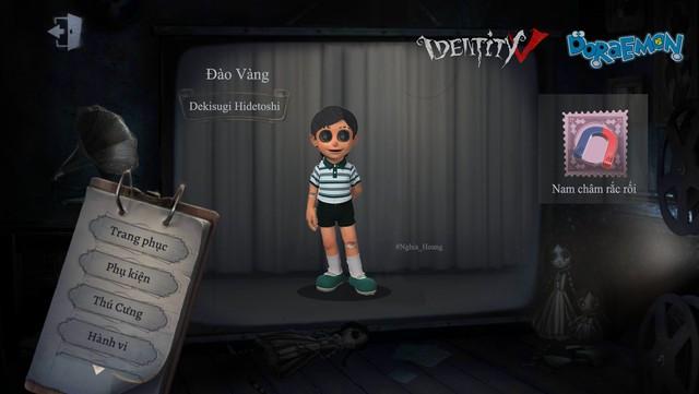 Ám ảnh với dàn nhân vật Doraemon bỗng xuất hiện trong Identity V cùng diện mạo cực kỳ creepy - Ảnh 7.