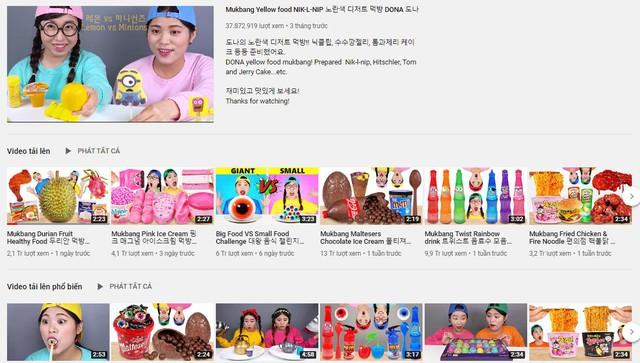 Top 5 nữ Youtuber thu nhập khủng nhất xứ Hàn nhờ... ngồi ăn: Mút kẹo cũng gần 300 triệu view, 55 tỷ VND mỗi tháng - Ảnh 3.