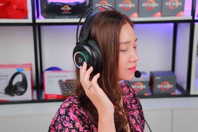 DareU EH416 RGB: Tai nghe gaming chất âm cực tốt mà giá chỉ 400 nghìn đồng - Ảnh 2.