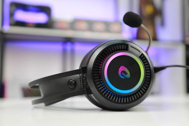 DareU EH416 RGB: Tai nghe gaming chất âm cực tốt mà giá chỉ 400 nghìn đồng - Ảnh 1.