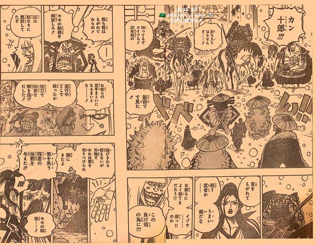 Những hình ảnh ấn tượng nhất trong One Piece chapter 985, Luffy và Yamato bắt đầu hành động - Ảnh 1.