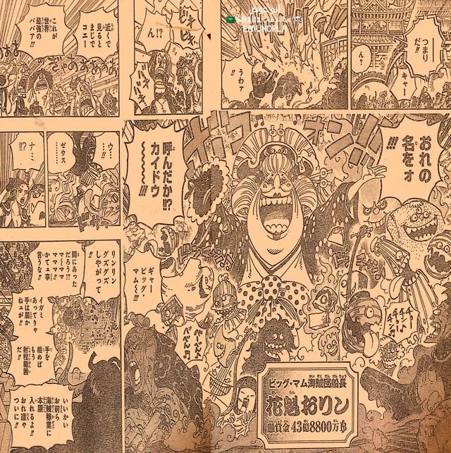 Những hình ảnh ấn tượng nhất trong One Piece chapter 985, Luffy và Yamato bắt đầu hành động - Ảnh 3.