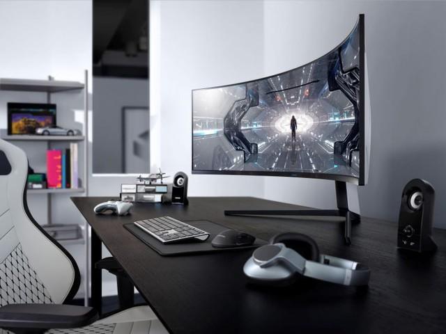 Game thủ đứng hình khi trải nghiệm màn hình gaming cong Odyssey G7 và G9 mới của Samsung - Ảnh 4.