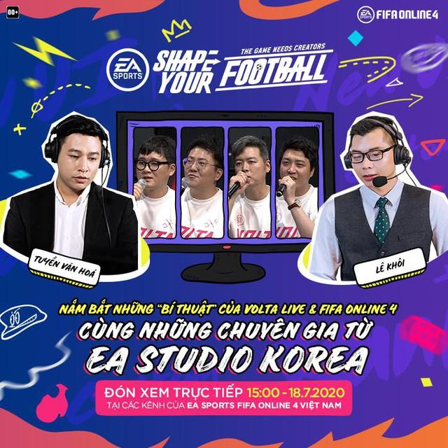 Độ Mixi, Cris Devil Gamer, QTV, Minh Nghi cùng dàn Streamer Khủng hội tụ cùng quẩy Volta Live FIFA Online 4 - Ảnh 2.
