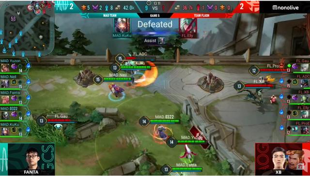 Liên Quân Mobile: Team Flash thua sốc MAD Team, khán giả VN chết lặng khi xem 2 ván cuối - Ảnh 4.