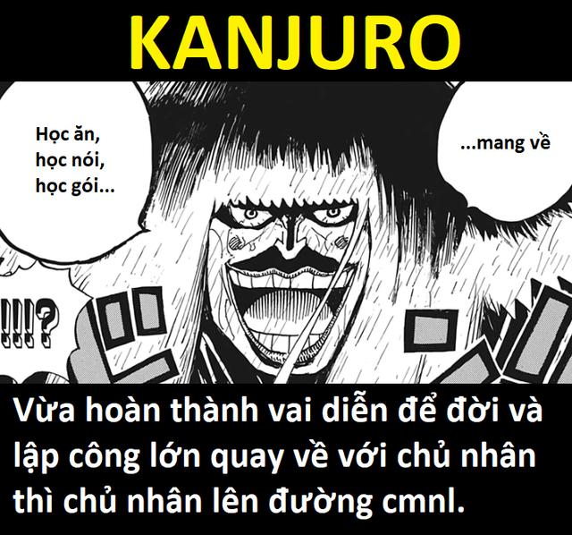 One Piece: Chết cười với loạt ảnh chế cực kỳ độc đáo tại arc Wano, nhìn ai cũng rất tấu hài - Ảnh 7.