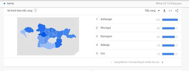 """Bất ngờ với top 5 quốc gia tìm kiếm """"Hentai"""" nhiều nhất thế giới, Việt Nam đứng thứ hai - Ảnh 2."""