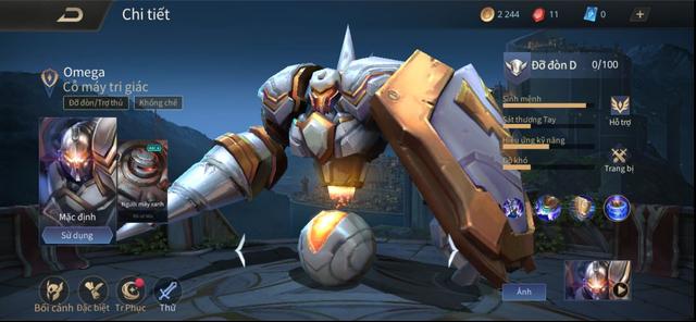 Liên Quân Mobile: Timi đại phẫu tướng Tanker gần như không ai chơi, game thủ ngỡ là skin Thần Sứ mới - Ảnh 1.