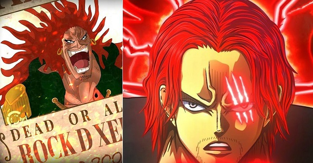One Piece: Tứ Hoàng Shanks và 4 nhân vật trong diện tình nghi là hậu duệ của Rocks D. Xebec - Ảnh 2.