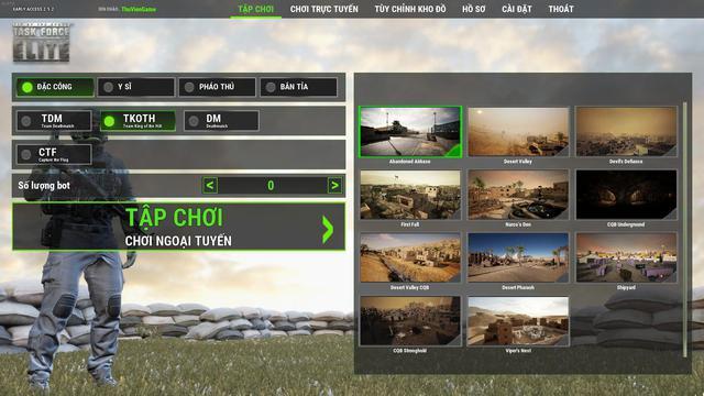 Đánh giá nhanh Tip of the Spear: Task Force Elite - Niềm tự hào mới của game Việt trên Steam - Ảnh 4.