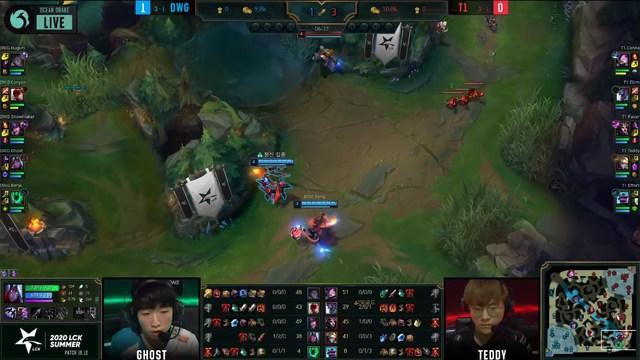 Nhìn lại trận thua của T1 trước Damwon Gaming - Pha mất Baron ở cuối ván 2 là nguyên nhân duy nhất? - Ảnh 3.