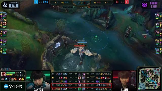Nhìn lại trận thua của T1 trước Damwon Gaming - Pha mất Baron ở cuối ván 2 là nguyên nhân duy nhất? - Ảnh 4.