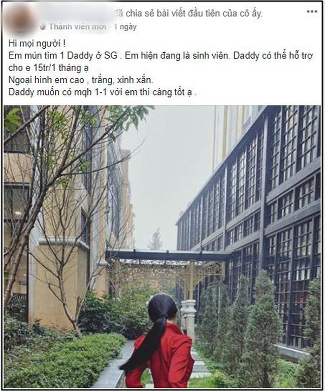 Các nữ sinh 2k vào group kín tìm sugar daddy chu cấp 8 - 10 triệu/ tháng, chuyên gia lên tiếng: Cần lên án nhưng khó xử lý - Ảnh 3.