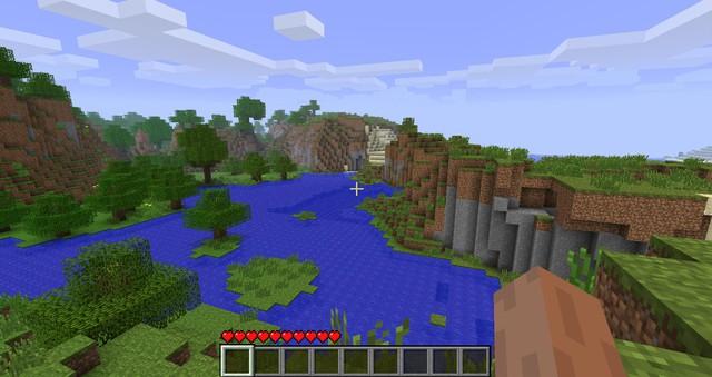 Sau 9 năm trời tìm kiếm ròng rã, nhóm game thủ cuối cùng cũng tìm ra mã Seed màn hình chờ của Minecraft - Ảnh 3.