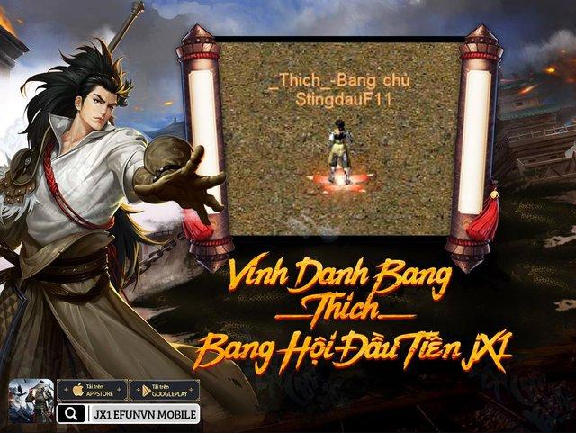 Tận nửa năm mới ra mắt tính năng Bang Hội, Huyền Thoại Võ Lâm JX1 khiến game thủ phát hờn ganh đua - Ảnh 2.