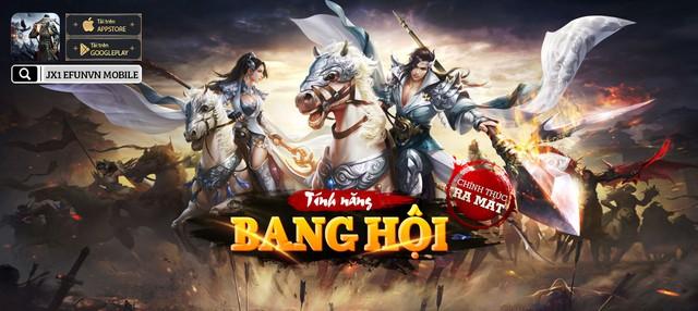 Tận nửa năm mới ra mắt tính năng Bang Hội, Huyền Thoại Võ Lâm JX1 khiến game thủ phát hờn ganh đua - Ảnh 1.
