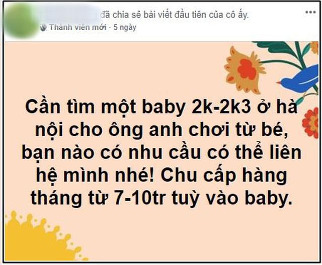 Các nữ sinh 2k vào group kín tìm sugar daddy chu cấp 8 - 10 triệu/ tháng, chuyên gia lên tiếng: Cần lên án nhưng khó xử lý - Ảnh 5.