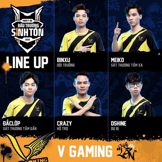 VGM BinXu: V Gaming Free Fire tự tin bảo vệ chức vô địch Đấu Trường Sinh Tồn - điều mà chưa một đội tuyển nào làm được - Ảnh 3.