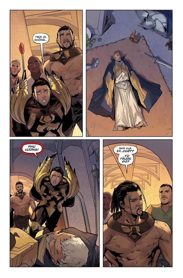 LMHT: Giả thuyết gây sốc - Jarvan IV là kẻ ám sát vua cha để cướp ngôi Hoàng đế Demacia? - Ảnh 2.