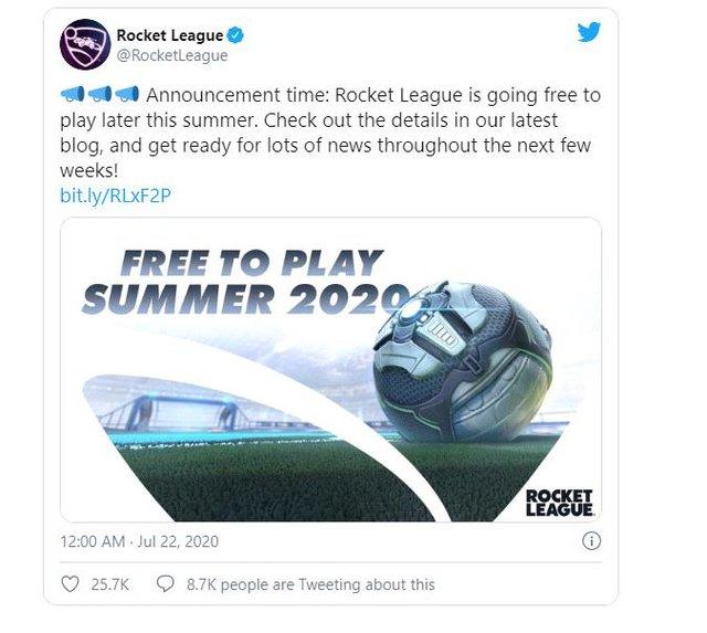 Sau 5 năm ra mắt, tựa game Rocket League chính thức chuyển sang miễn phí hoàn toàn trên Epic Games Store - Ảnh 2.