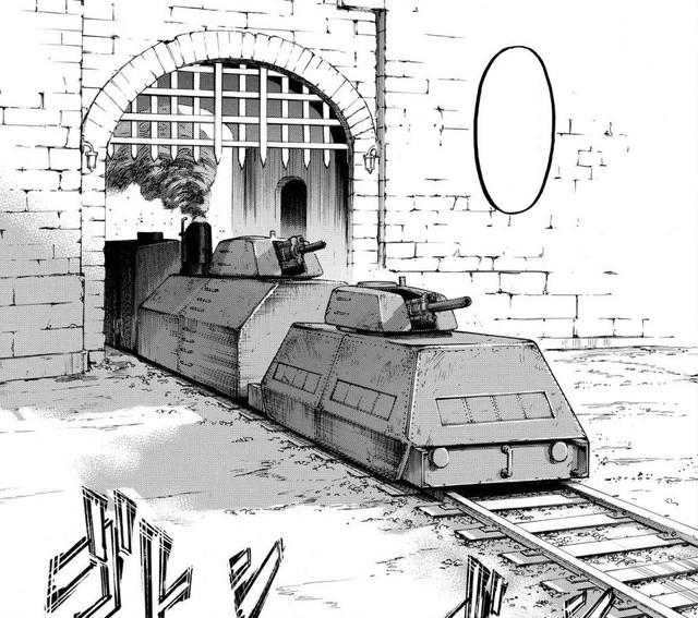 Tổng hợp những khí tài quân sự và công nghệ của nhân loại trong Attack on Titan - Ảnh 7.