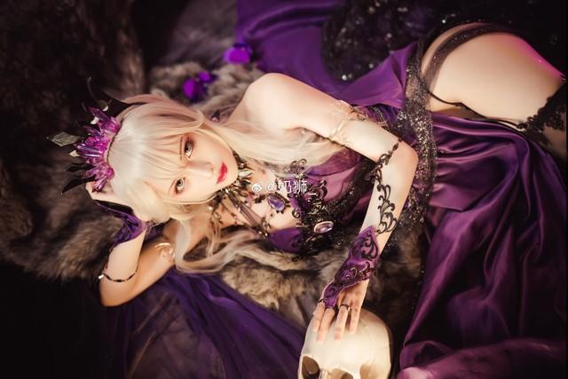 Ngắm mỹ nhân Fate/Grand Order đầy ma mị và quyến rũ qua loạt ảnh cosplay đẹp lung linh - Ảnh 9.