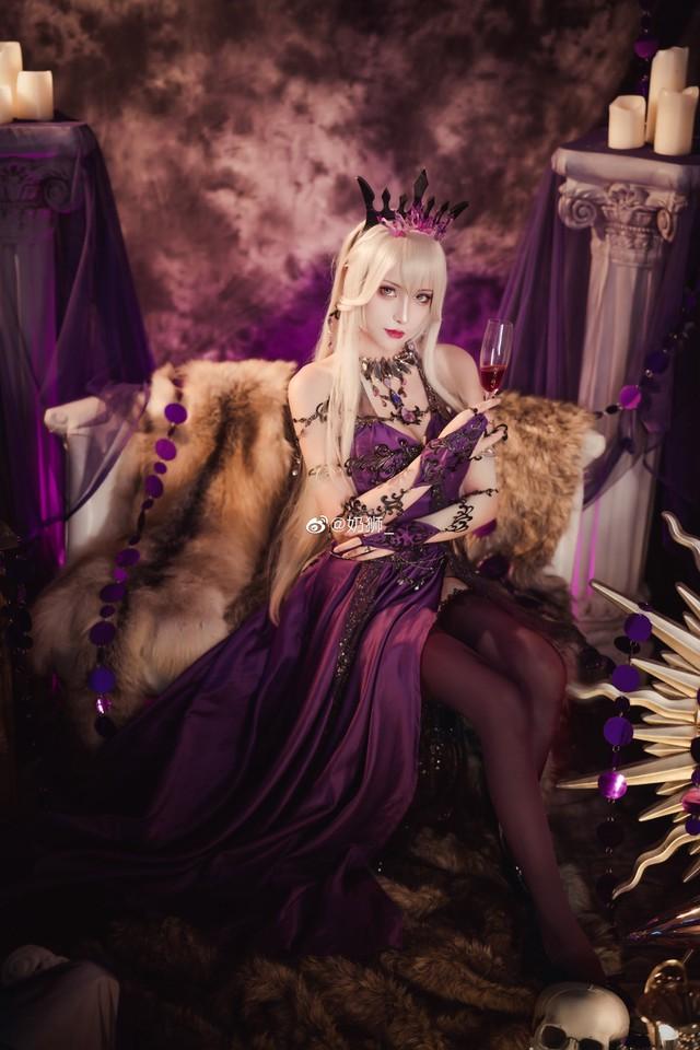Ngắm mỹ nhân Fate/Grand Order đầy ma mị và quyến rũ qua loạt ảnh cosplay đẹp lung linh - Ảnh 10.