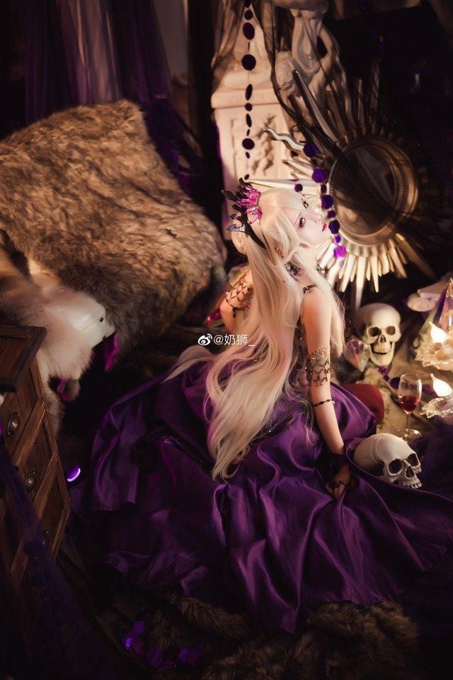 Ngắm mỹ nhân Fate/Grand Order đầy ma mị và quyến rũ qua loạt ảnh cosplay đẹp lung linh - Ảnh 11.