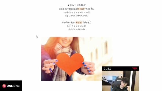 T1 Cuzz thả thính gái Việt nói anh yêu em 1 phát ăn ngay khiến fan Việt dậy sóng: Mẹ ơi anh con rể người Hàn đây rồi - Ảnh 2.