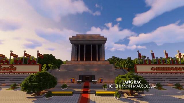 Tự hào game thủ: Đưa các công trình nổi tiếng của Việt Nam vào Minecraft - Ảnh 2.