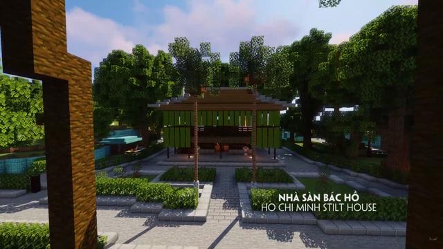 Tự hào game thủ: Đưa các công trình nổi tiếng của Việt Nam vào Minecraft - Ảnh 3.