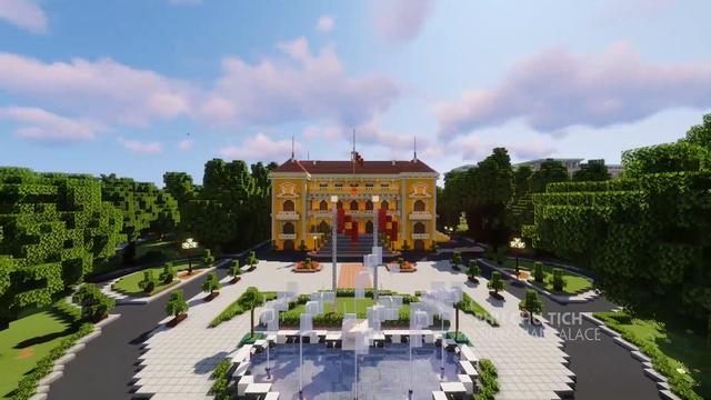 Tự hào game thủ: Đưa các công trình nổi tiếng của Việt Nam vào Minecraft - Ảnh 4.