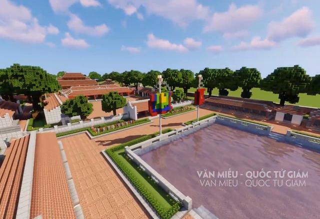 Tự hào game thủ: Đưa các công trình nổi tiếng của Việt Nam vào Minecraft - Ảnh 6.