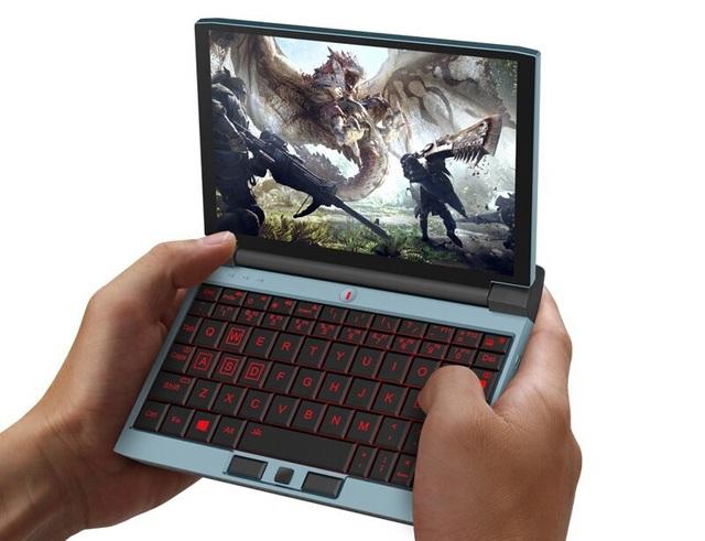 Mở hộp Laptop Gaming siêu nhỏ, chỉ bé bằng bàn tay nhưng chơi được cả PUBG - Ảnh 1.
