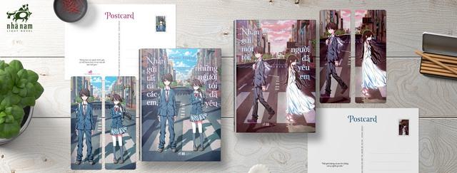 Bội đôi Light Novel Nhã Nam đang làm mưa làm gió trên các nhà sách tháng 7: Nhắn gửi một tôi, người đã yêu em - Ảnh 5.