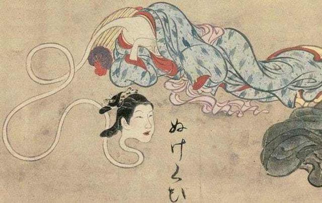 Rokuro Kubi: Ma nữ cổ dài ngoằng gây ám ảnh ở Nhật Bản - Ảnh 3.