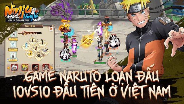 Game Naruto đấu tướng 10 vs 10 Ninja Làng Lá Mobile cập bến làng game Việt - Ảnh 3.