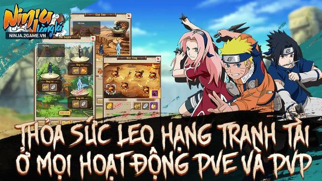 Game Naruto đấu tướng 10 vs 10 Ninja Làng Lá Mobile cập bến làng game Việt - Ảnh 4.