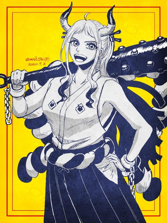 One Piece: Ngẩn ngơ ngắm nhan sắc con gái Kaido, xinh đẹp, dễ thương khiến ai cũng say đắm - Ảnh 2.