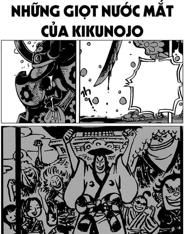 One Piece: Kiku đã khóc khi tự tay chém chết chủ nhân Oden, ký ức đau buồn về 20 năm trước lại tái hiện - Ảnh 1.