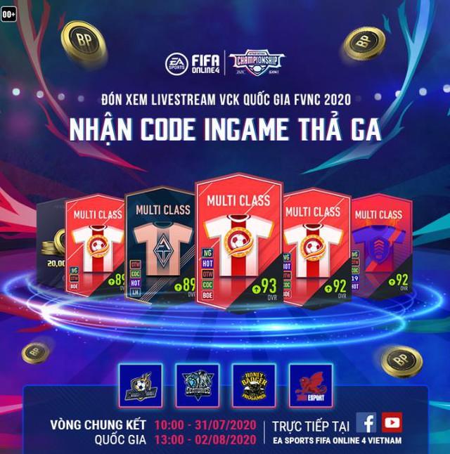 VCK FVNC 2020: Cuộc chiến quyết định, đi tìm nhà vua mới của FIFA Online 4 và đại diện Việt Nam tham dự EACC 2020 - Ảnh 2.