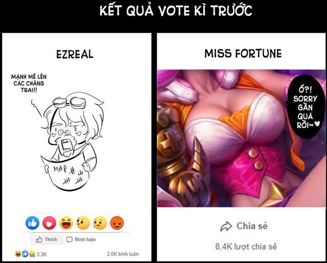 Chứng kiến Ezreal bị game thủ Việt hắt hủi, Fanpage LMHT Việt Nam phải ra mặt cầu cứu, hứa thưởng cả skin miễn phí - Ảnh 1.