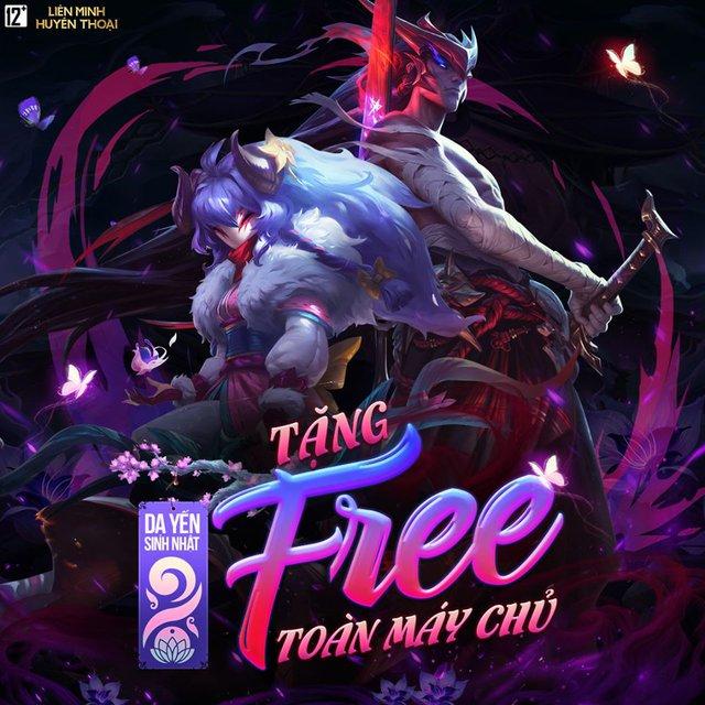 HOT: Garena tặng free tướng mới Yone và trang phục Kindred Lang Dương Vô Thường nhân dịp sinh nhật máy chủ LMHT Việt Nam - Ảnh 2.