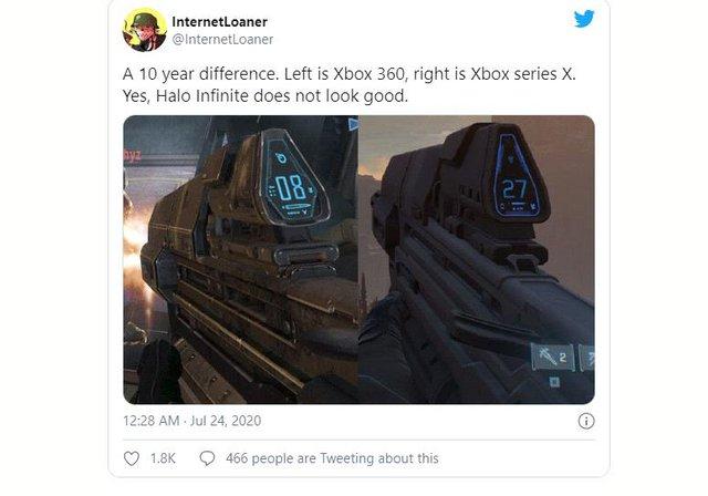 Bom tấn Halo Infinite vừa ra mắt trailer đã bị chê cười là xấu như game 8-bit - Ảnh 4.