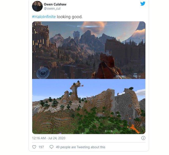 Bom tấn Halo Infinite vừa ra mắt trailer đã bị chê cười là xấu như game 8-bit - Ảnh 5.