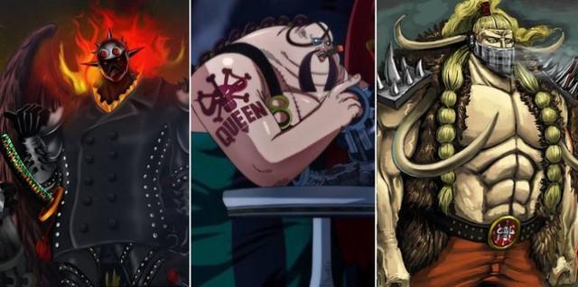 One Piece: 4 cái tên nào trong nhóm Cửu Hồng Bảo đủ cân lại bộ ba tam tai dưới trướng Kaido? - Ảnh 1.