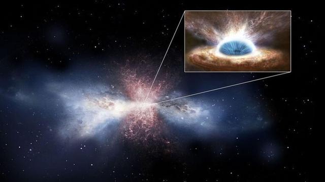Phát hiện lỗ đen siêu khổng lồ nặng gấp 34 tỷ lần Mặt Trời, háu ăn đến mức mỗi ngày đều nuốt chửng một ngôi sao - Ảnh 1.